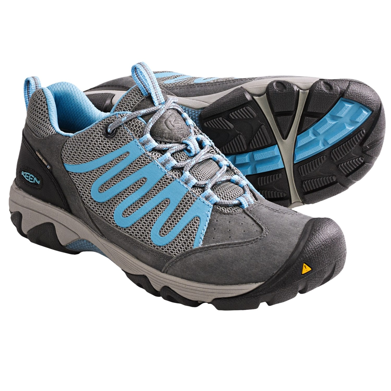 Keen Verdi WP Light Hiking Shoes - Waterproof (For Women) in Gargoyle