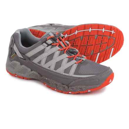 Keen Versatrail Hiking Shoes - Waterproof (For Women) in Shark/Tiger Lily - Closeouts