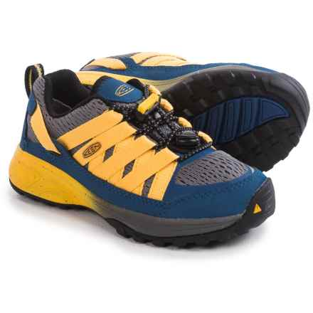 Keen Versatrail Sneakers (For Toddlers) in True Blue/Keen Yellow - Closeouts