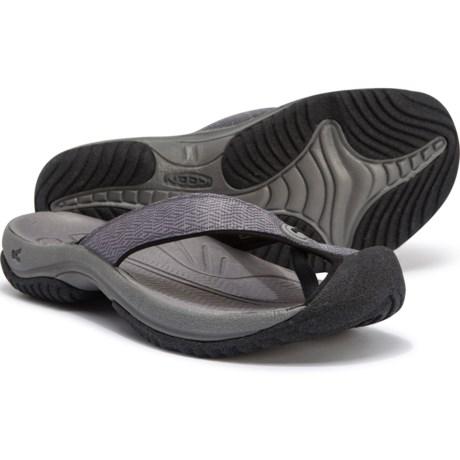 3f1c629635f Keen Waimea H2 Flip-Flops (For Men) in Turbulence/Black