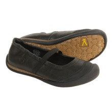 Keen Wear Around Mary Jane Shoes - Leather (For Women) in Black - Closeouts