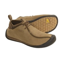Keen Wear Around Mid Shoes - Leather (For Men) in Shitake - Closeouts