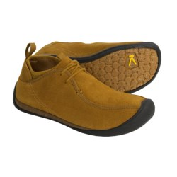 Keen Wear Around Mid Shoes - Leather (For Men) in Wheat/Suede