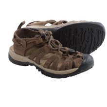 Keen Whisper Leather Sport Sandals (For Women) in Cascade Brown/Brindle - Closeouts