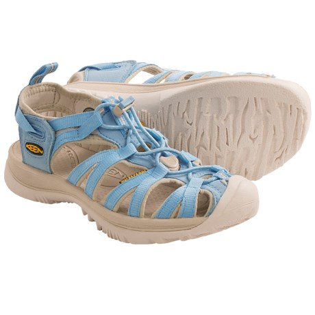 Keen Whisper Sport Sandals (For Women) in Alaskan Blue/Pumice Stone