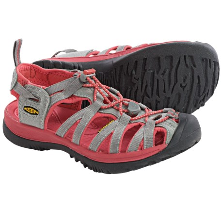 Keen Whisper Sport Sandals (For Women) in Neutral Grey/Rose