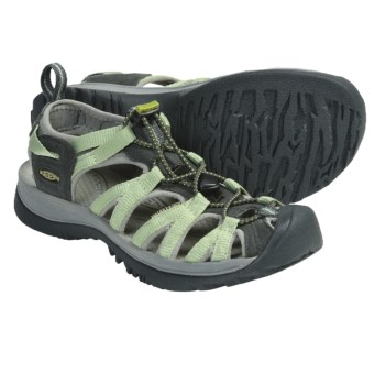 Keen Whisper Sport Sandals (For Women) in Nile/Neutral Grey