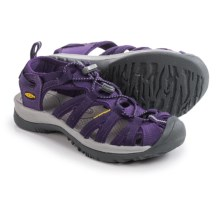 Keen Whisper Sport Sandals (For Women) in Parachute/Neutral Grey - Closeouts