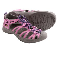 Keen Whisper Sport Sandals (For Youth Girls) in Wild Orchid - Closeouts