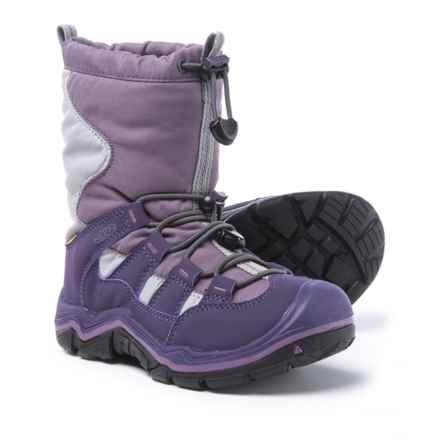 Keen Winterport II Boots - Waterproof, Insulated (For Kids) in Purple Plumeria/Alloy - Closeouts