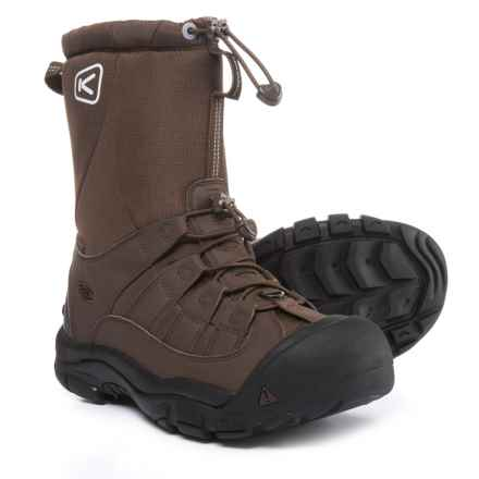 Keen Winterport II Winter Boots - Waterproof (For Men) in Demitasse/Slate Black - Closeouts