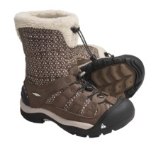 Keen Winterport II Winter Boots - Waterproof, Insulated (For Women) in Dark Earth/Simply Taupe - Closeouts