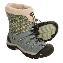 Keen Winterport II Winter Boots - Waterproof, Insulated (For Women) in Trooper/Desert Sage - Closeouts