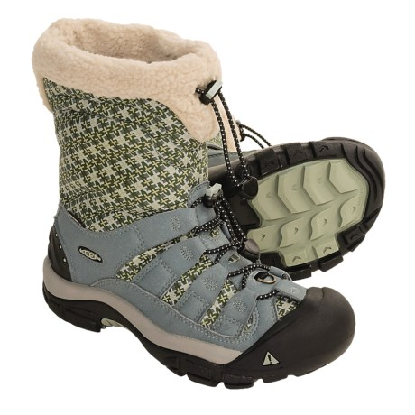 Keen Winterport II Winter Boots - Waterproof, Insulated (For Women) in Trooper/Desert Sage