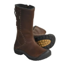 Keen Winthrop Leather Boots - Waterproof, Wool Lined (For Women) in Pinecone - Closeouts