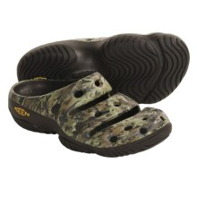 Keen Yogui Casual Sandals - Waterproof (For Men) in Camo Green - Closeouts