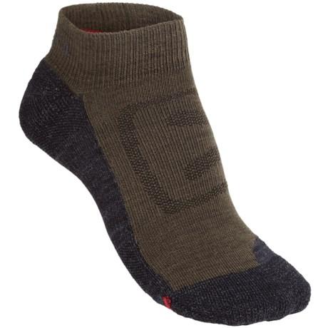 Keen Zing Ultralite Low Cut Socks - Merino Wool (For Women) in Black Olive