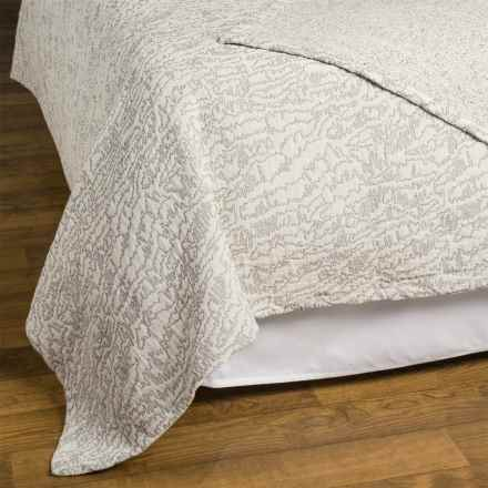 Kelly Wearstler Bluff Coverlet - Full-Queen in Natural - Closeouts