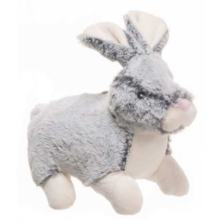 "KellyPet Bunny Squeaker Dog Toy - 10"" in Grey"