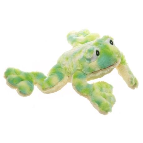 """KellyPet Tie-Dye Frog Squeaker Dog Toy - 16"""" in Multi"""