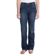 Kelsey Embellished Jeans - Bootcut (For Women) in Denim - 2nds