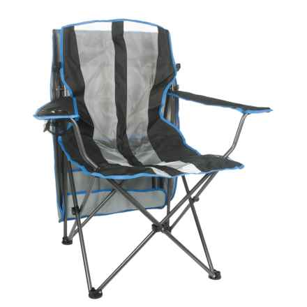 Kelsyus Original Canopy Chair with Weather Shield in Grey - Closeouts