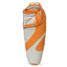 Kelty 20°F Light Year Down Sleeping Bag - 600 Fill Power, Mummy (For Women) in Russet Orange/Grey - Closeouts