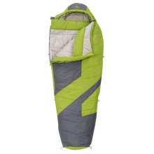 Kelty 20°F Light Year XP Sleeping Bag - Mummy, Synthetic in Dark Citron/Grey - Closeouts