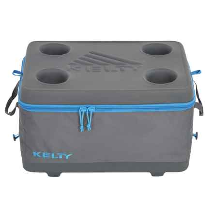 Kelty 27L Folding Cooler - Medium in Smoke/Paradise Blue - Closeouts