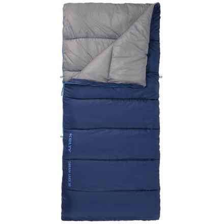 Kelty 30°F Dream Lake Sleeping Bag - Rectangular in Blue - Closeouts