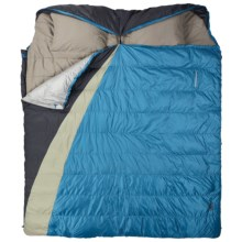 Kelty 30°F Supernova Double Wide Sleeping Bag in Dark Blue - Closeouts