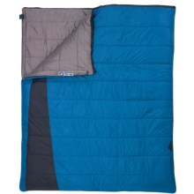 Kelty 35°F Callisto Double Wide Sleeping Bag - Rectangular in Blue/Black - Closeouts