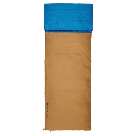 Kelty 40°F Revival Sleeping Bag - Rectangular in Canyon Brown