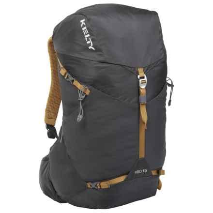 Kelty 50L Siro Backpack - Internal Frame in Black - Overstock