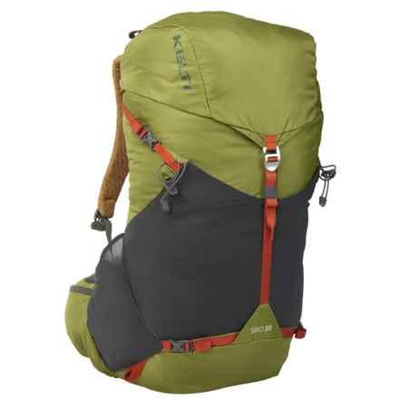 Kelty 50L Siro Backpack - Internal Frame in Woodbine - Overstock