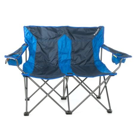 Kelty Folding Camping Loveseat in Navy Blue