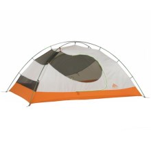 Kelty Gunnison 3.2 Tent - 3-Person, 3-Season in Orange/Grey - Closeouts
