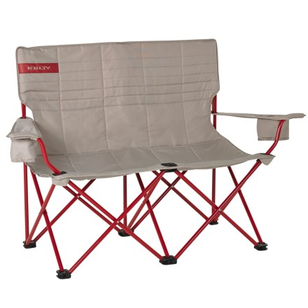 Kelty Low Loveseat Camp Chair In Tundra Chili Pepper