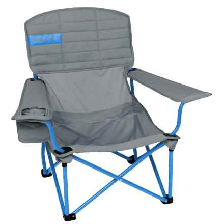 Kelty Mesh Lowdown Camp Chair in Smoke/Paradise Blue - Closeouts