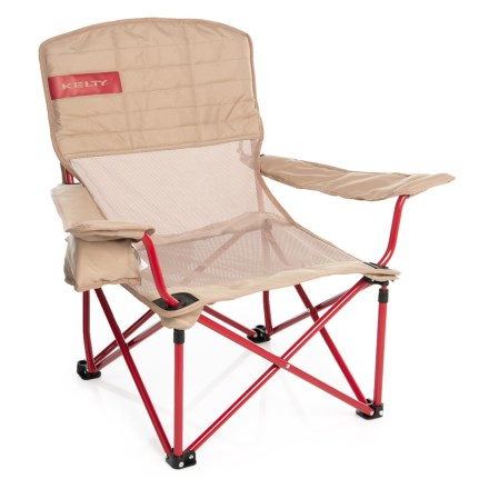 Kelty Mesh Lowdown Camp Chair In Tundra Chili Pepper Closeouts