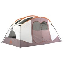 Kelty Parthenon 6 Tent - 6-Person, 3-Season in White/Brown - Closeouts