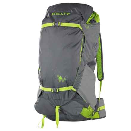 Kelty PK 50L Backpack - Internal Frame in Gray/Citron - Closeouts
