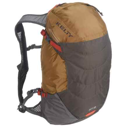 Kelty Riot 22L Backpack - Internal Frame in Canyon Brown - Closeouts