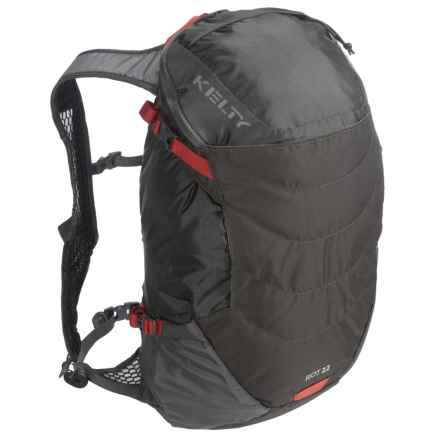 Kelty Riot 22L Backpack - Internal Frame in Raven - Closeouts