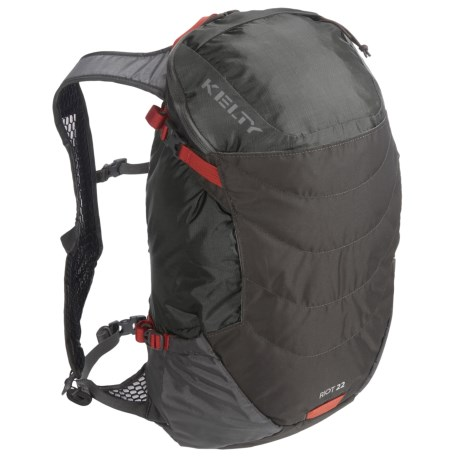 Kelty Riot 22L Backpack - Internal Frame in Raven