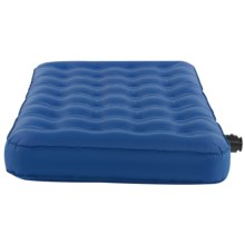 Kelty Sleep Eazy Twin Air Bed - Rechargeable Pump in Blue - Closeouts