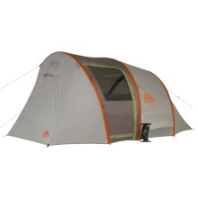Kelty Sonic 6 Tent - 6-Person, 3-Season in Grey/Orange - Closeouts