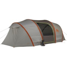 Kelty Sonic 8 Tent - 8-Person, 3-Season in Grey/Orange - Closeouts