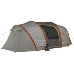 Kelty Sonic 8 Tent - 8-Person, 3-Season in Grey/Orange