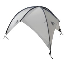 Kelty Sunshade - Large in Light Grey / Navy - Closeouts